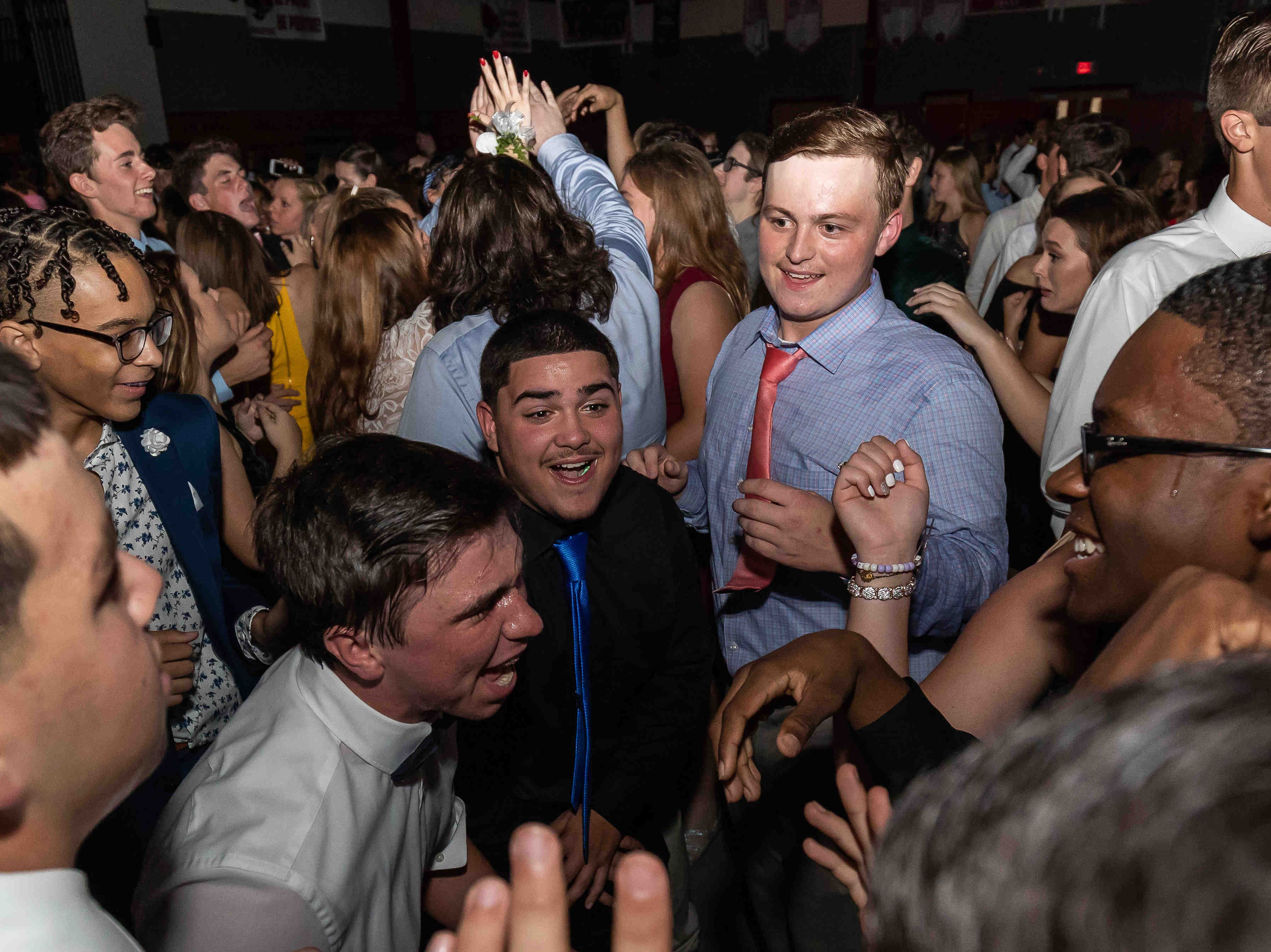 About 500 students attended the Conrad School Of Science Homecoming Dance at the school on Saturday, October 6, 2018.