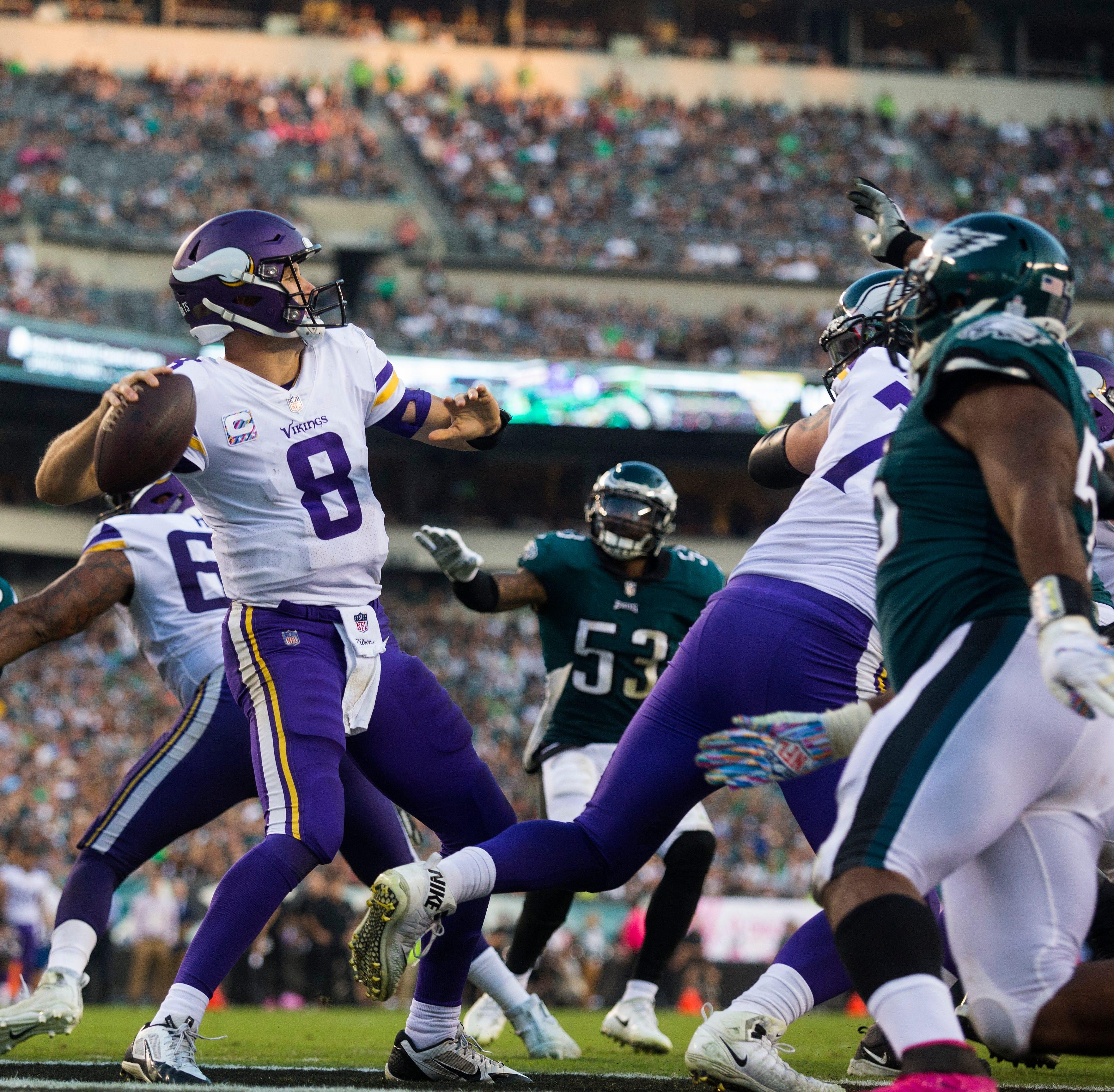 WATCH: Vikings quarterback Kirk Cousins quotes Dan Gable in pregame hype speech