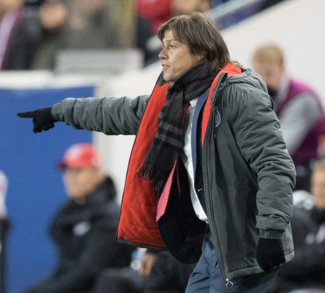 Matias Almeyda led Chivas to the CONCACAF Champions League title this year with a win over Toronto FC in the final.