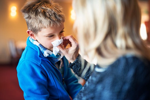 Kids who cleaned their hands using hand sanitizer instead of soap and water had fewer respiratory infections and were prescribed fewer antibiotics.