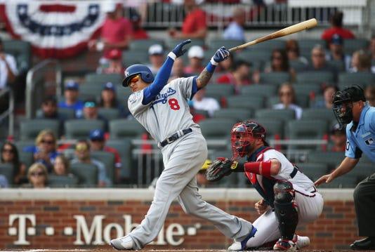 Usp Mlb Nlds Los Angeles Dodgers At Atlanta Brave S Bbn Atl Lad Usa Ga