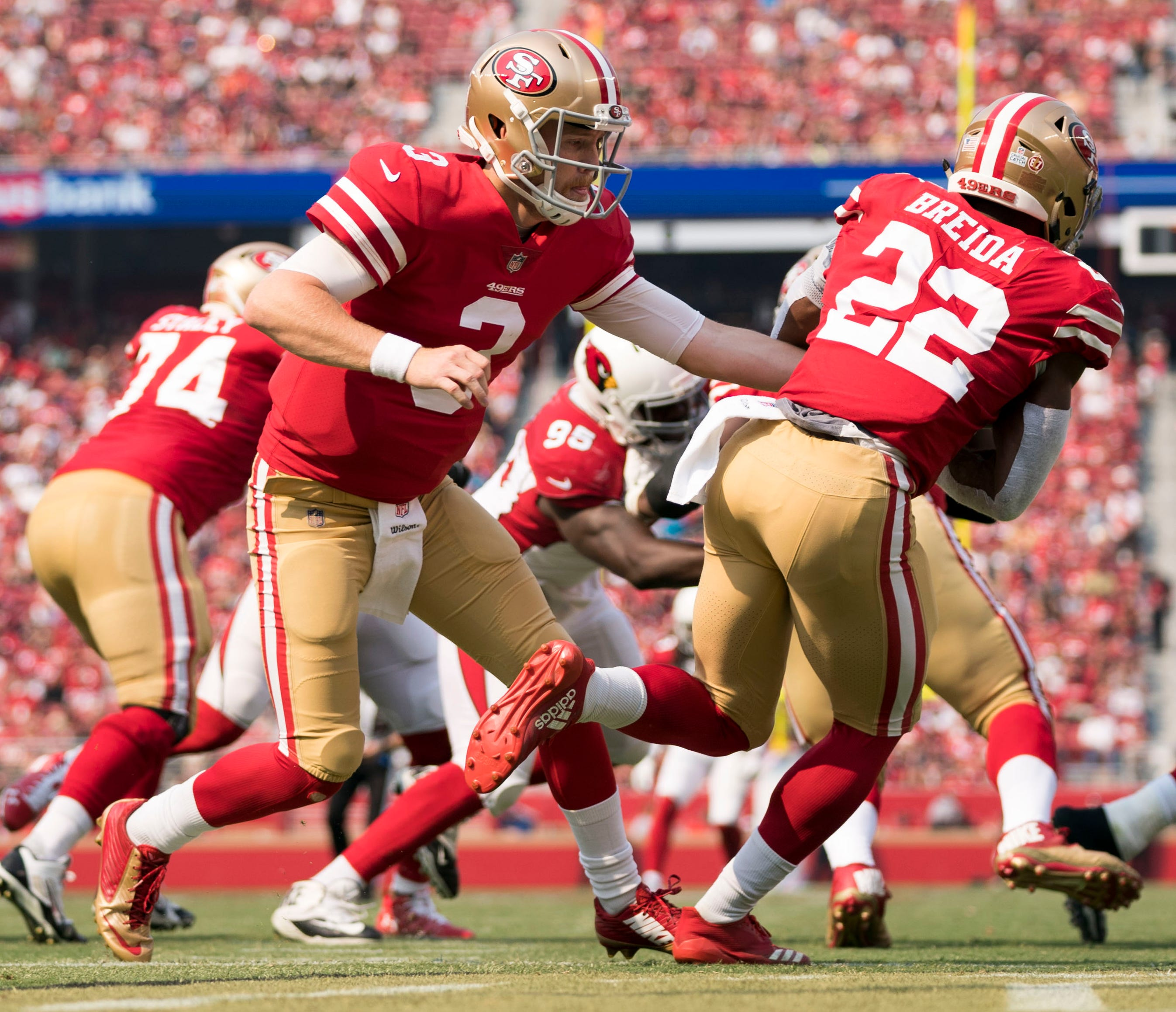 32. 49ers (30): Bravo to the NFL for implementing a scheduling provision that allows it to flex games earlier in the schedule ... otherwise you would've seen Niners in prime time four of next five weeks.