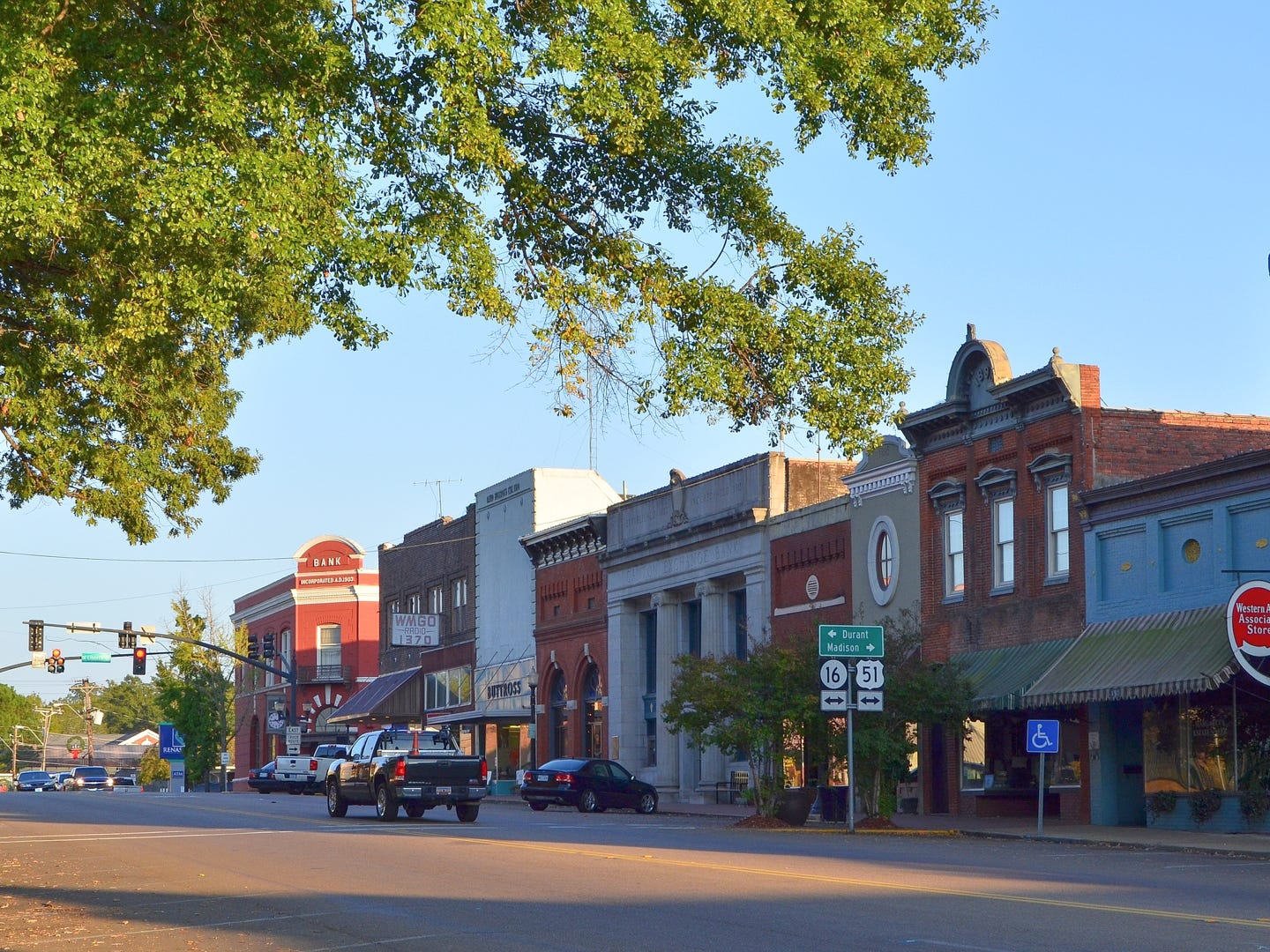 """Mississippi: Though it's technically a city, Canton has a historic small-town feel. That's why it's served as an idyllic backdrop for several major films, including """"A Time to Kill"""" and """"O Brother, Where Art Thou?"""" Local tourist attractions include Canton's Museum of History, the Courthouse Square and the city's contributions to the Mississippi Blues Trail. It's especially charming to visit during Christmastime when the whole city is strung with hundreds of thousands of lights. Canton's Museum of History: $5."""
