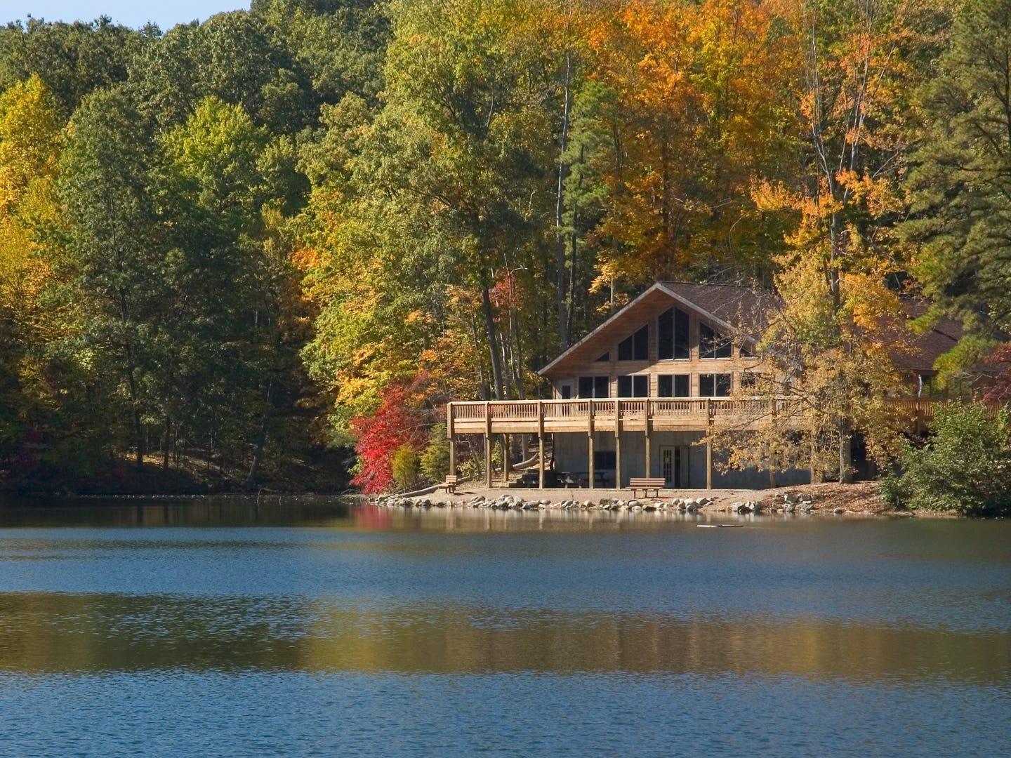 Ohio: Nature lovers will find plenty to do in Hocking Hills: Hiking to Old Man's Cave, exploring the natural beauty of Ash Cave, going on a canoe adventure and zip lining through nature are just a few of the things you can do outdoors here. There's also almost always a festival or event going on, so you can celebrate with the locals. Just avoid visiting in December, which is the most expensive time to visit the state of Ohio. Hocking Hills Adventures Crocketts Run Canoe Trip: $38 per canoe.