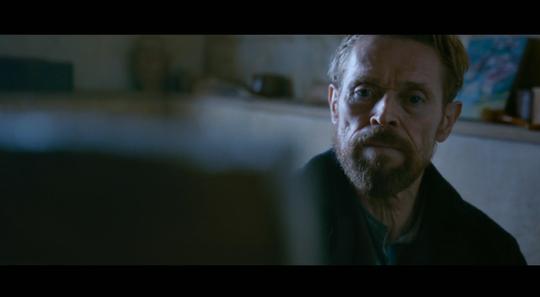 "William Dafoe in ""At Eternity's Gate."""