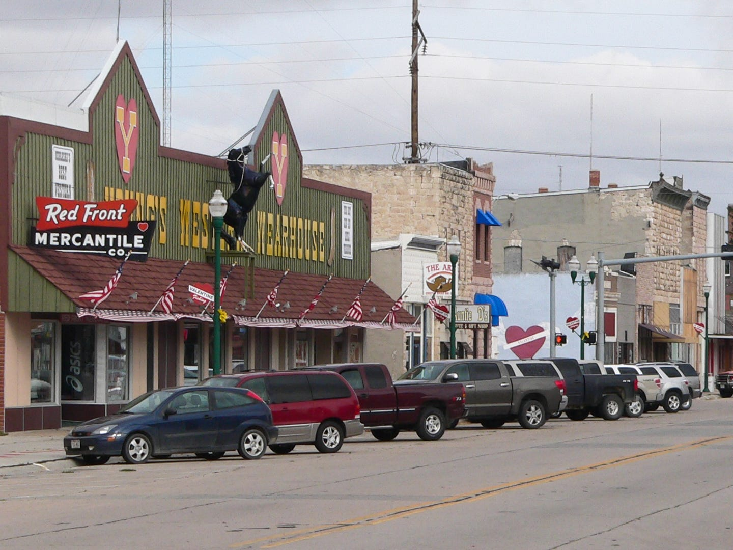 """Nebraska: Whether or not your weekend trip is romantic in nature, you're sure to love exploring the outdoors in Valentine. The town's slogan is """"Small town, big adventure,"""" and with so much to do, it truly lives up to it. Take in the scenic beauty of Cherry County while hiking, horseback riding, canoeing, tubing, kayaking, hunting, fishing or camping during your trip. Hike to the waterfalls at Smith Falls State Park or the Snake River Falls, see the local wildlife at the Fort Niobrara National Wildlife Refuge — which is a free thing to do in Nebraska — and unwind with a glass of wine at the Niobrara Valley Vineyards. Fort Niobrara National Wildlife Refuge: Free."""