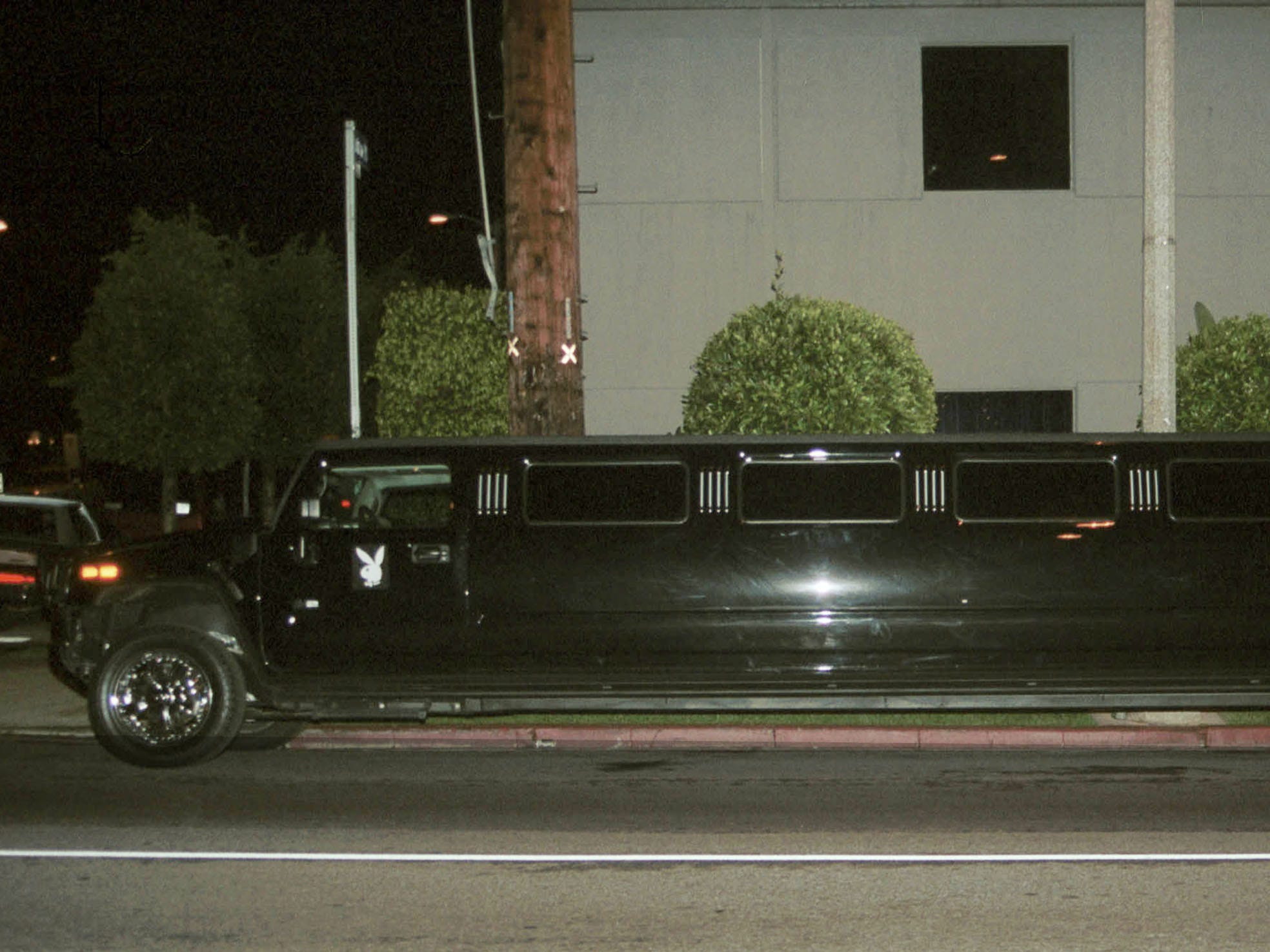 A 2004 Hummer H2 limo in Beverly Hills, Calif. Jan. 2, 2004