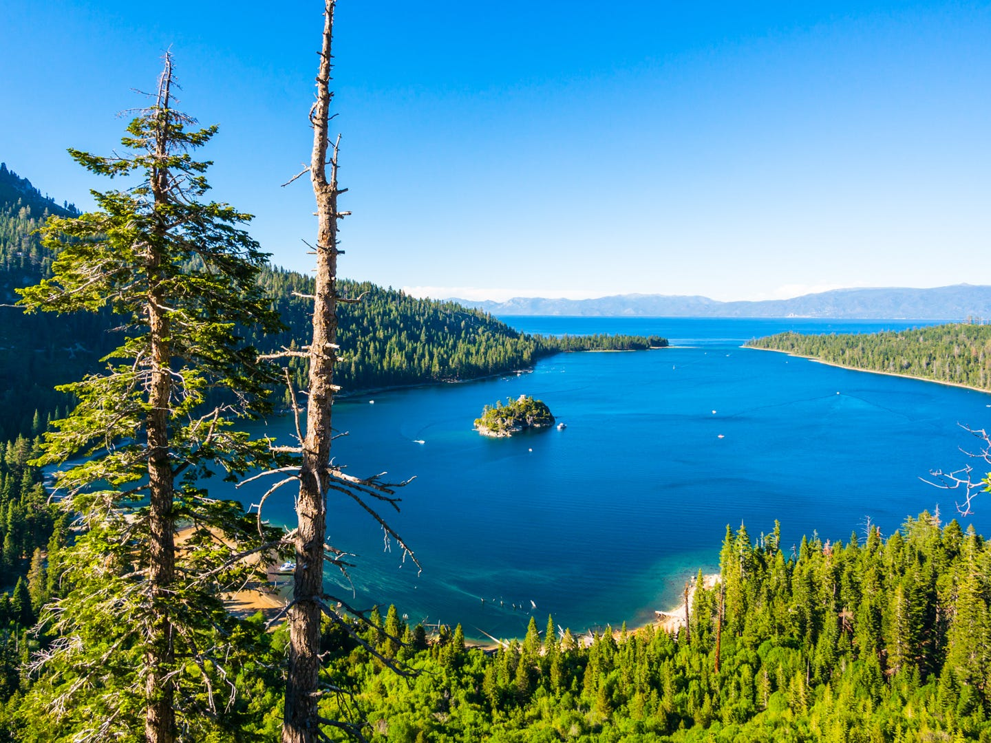 Nevada: Lake Tahoe — one of America's bucket list destinations — straddles California and Nevada, and there's plenty to do on the Nevada side. Be sure to head to the MontBleu Resort Casino & Spa for gambling and spa treatments, rent a paddleboard to explore the lake and take a sunset cruise on the M.S. Dixie II. M.S. Dixie II Captains Dinner Dance Cruise: $94.