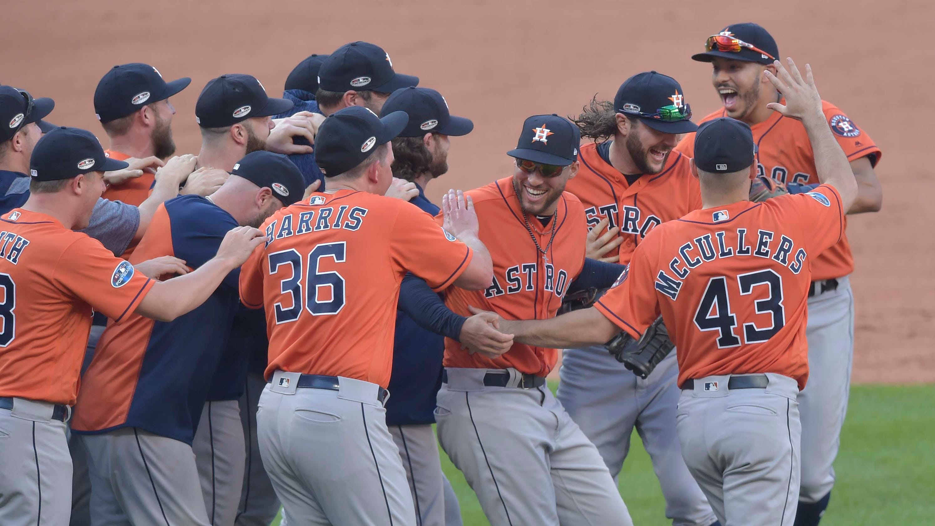 MLB playoffs: Astros rout Indians to complete ALDS sweep