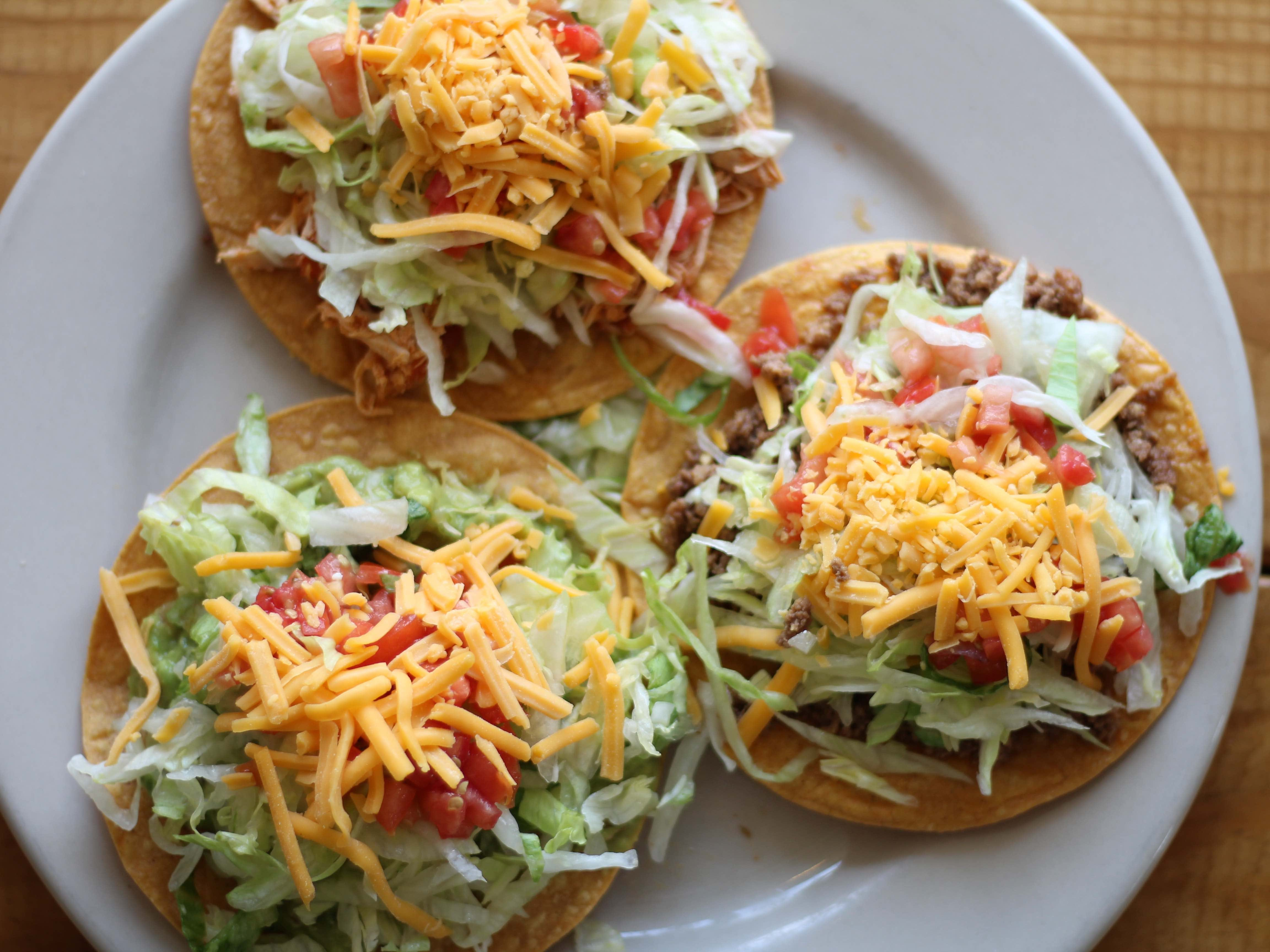 El Rincon's Tex-Mex isn't the best in town, but if you're after old-school, shredded-lettuce-and-ground-beef Tex-Mex, the restaurant doesn't stray far from the straight-and-narrow. The menu offers all the 1980s hits, from crispy chalupas (shown) to tacos, fajitas and enchiladas.