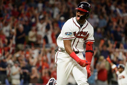 Ap Nlds Dodgers Braves Baseball S Bbn Usa Ga
