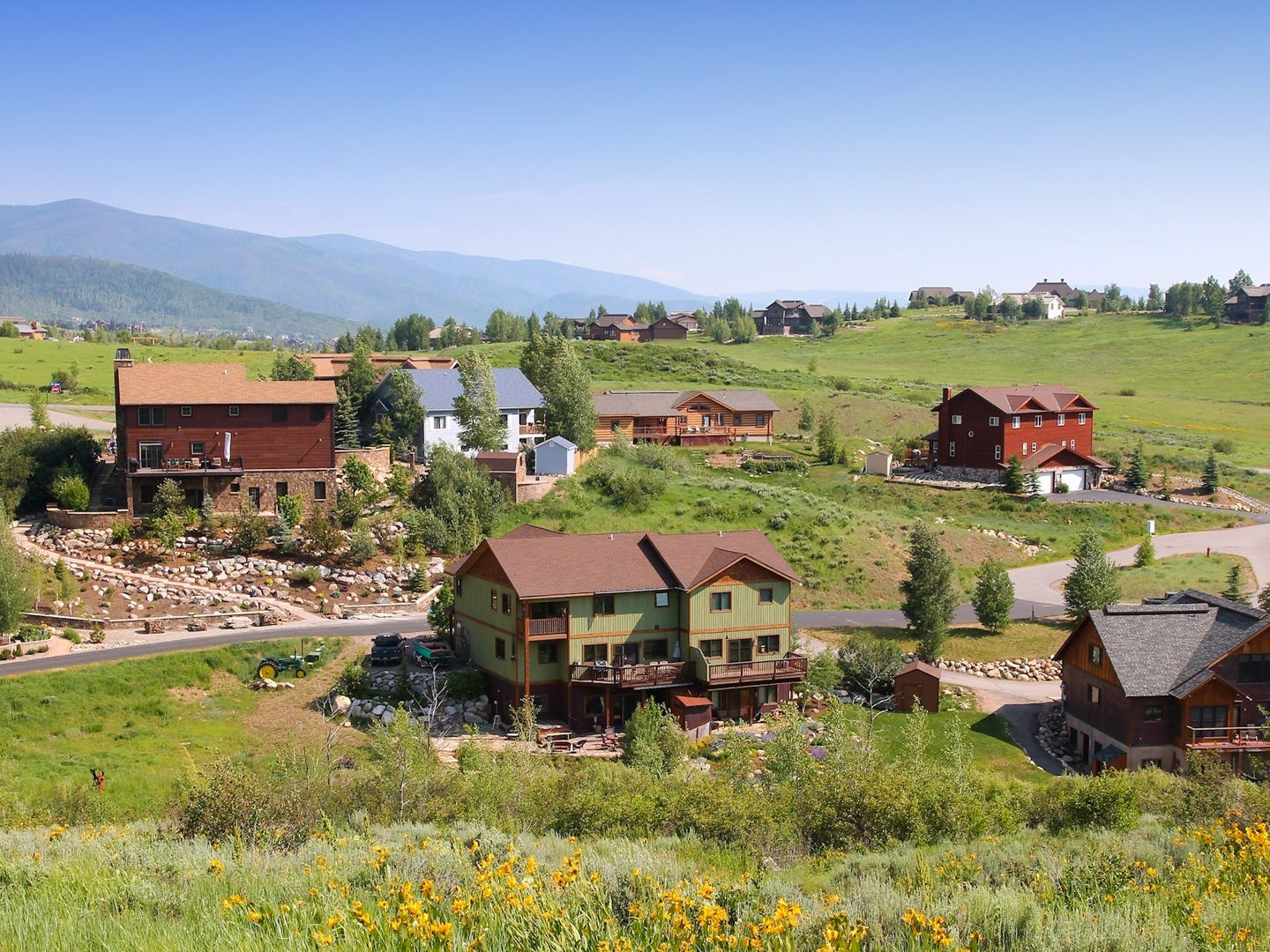 Colorado: Nature lovers flock to Steamboat Springs year-round to enjoy the peace and quiet of the mountain town. In the warm months, take a dip in the Strawberry Park Hot Springs, hike to Fish Creek Falls or go biking through the area's parks. In the winter, Steamboat Springs is a popular ski destination thanks to the Steamboat Resort and Howelsen Hill. If outdoor activities aren't your thing, you can enjoy a concert at the Steamboat Symphony Orchestra or get cultured at the Steamboat Art Museum. Strawberry Park Hot Springs: $15 to $20.