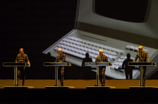 Kraftwerk's concert at the Crosstown Theatre will serve as a benefit for Crosstown Arts, which celebrates its 10th anniversary.