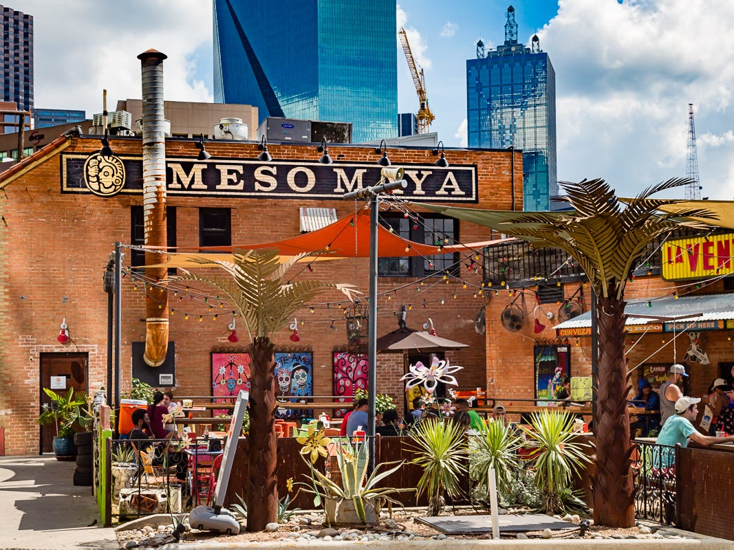 El Fenix's sister restaurant, Mesa Mayo, sits adjacent to the downtown El Fenix restaurant. The menu offers elevated Tex-Mex, though its predominant stride is more Mexican than Tex-Mex.
