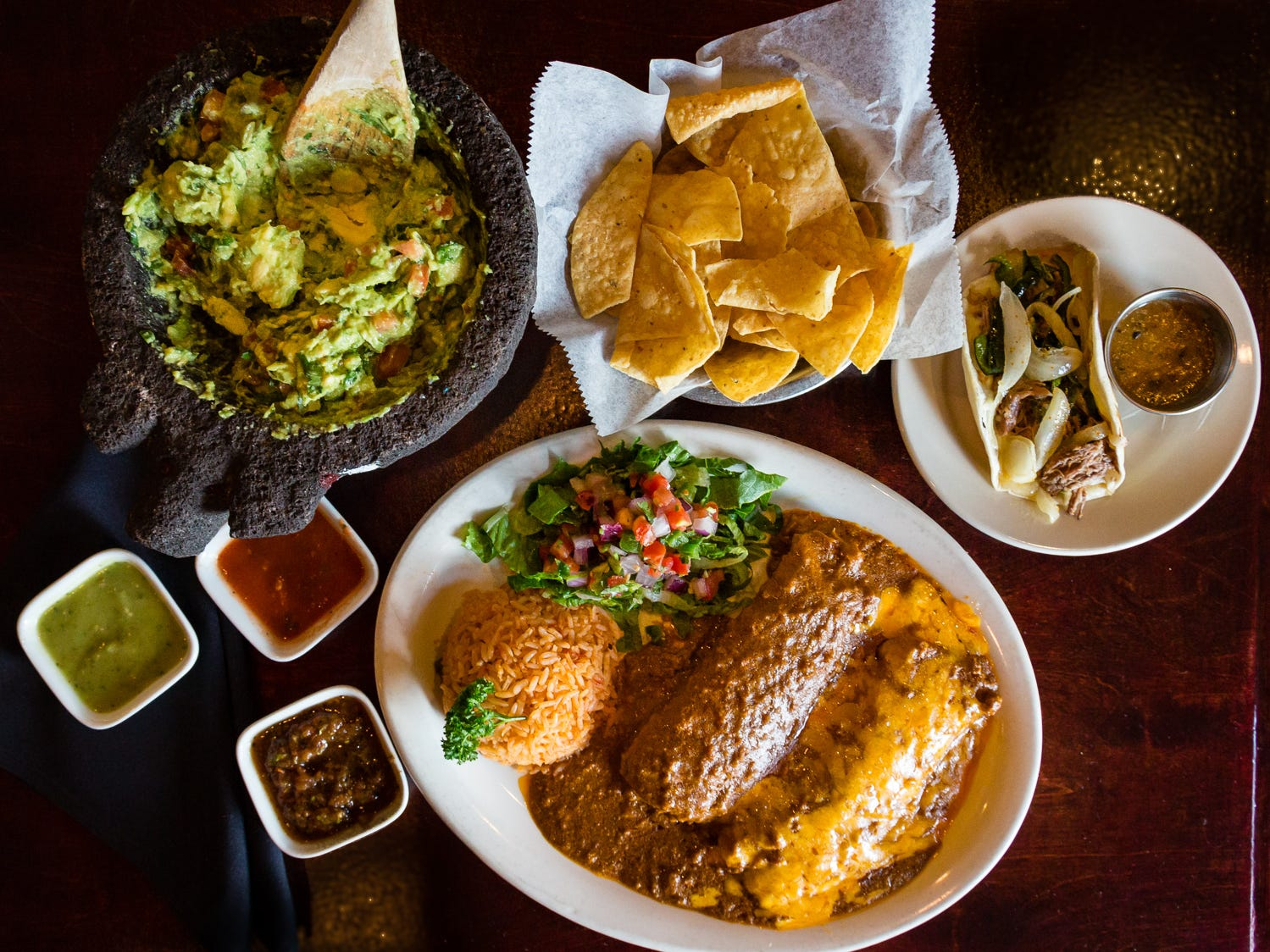 From guacamole made tableside to enchiladas and tamales made from fresh corn masa, chef-owner Gabrielle Pampa's Tex-Mex food is some of the city's best. Gabriela and Sofia Tex-Mex draws a loyal following of regular customers to its two North Dallas and Flower Mound locations.