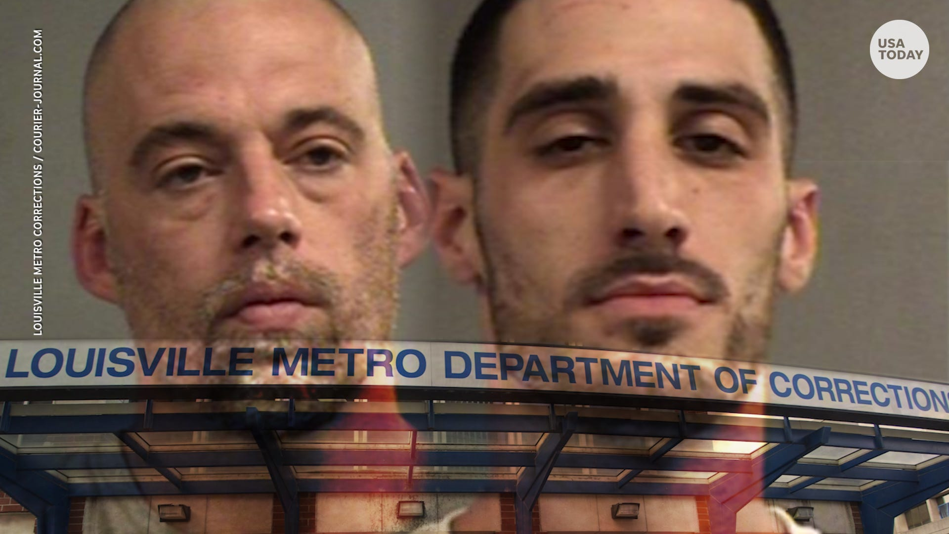 Two inmates escape from jail in trash cans