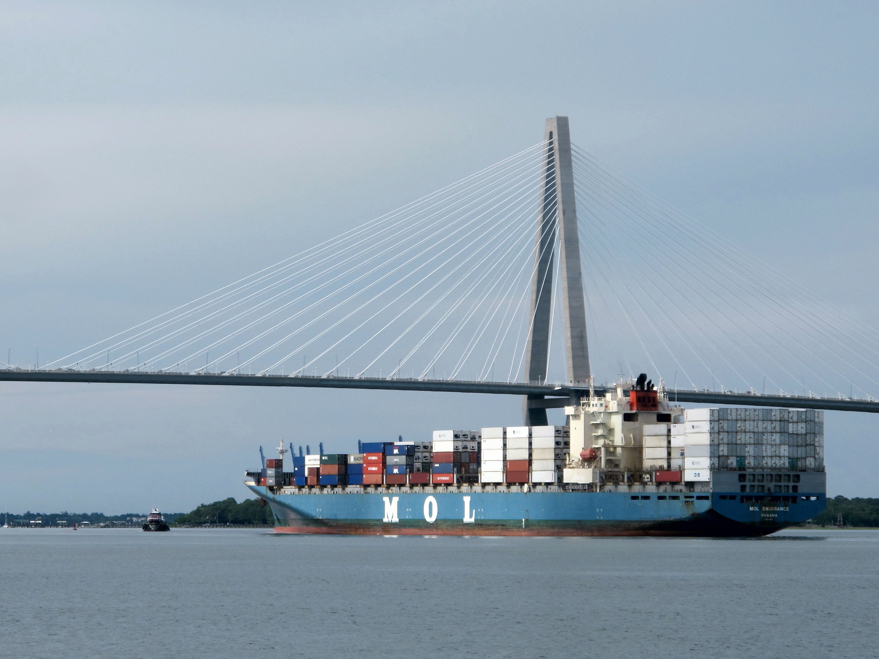 About two-fifths of container port traffic in Charleston, S.C. through this area could take a hit, according to Panjiva, S&P Global Market Intelligence.