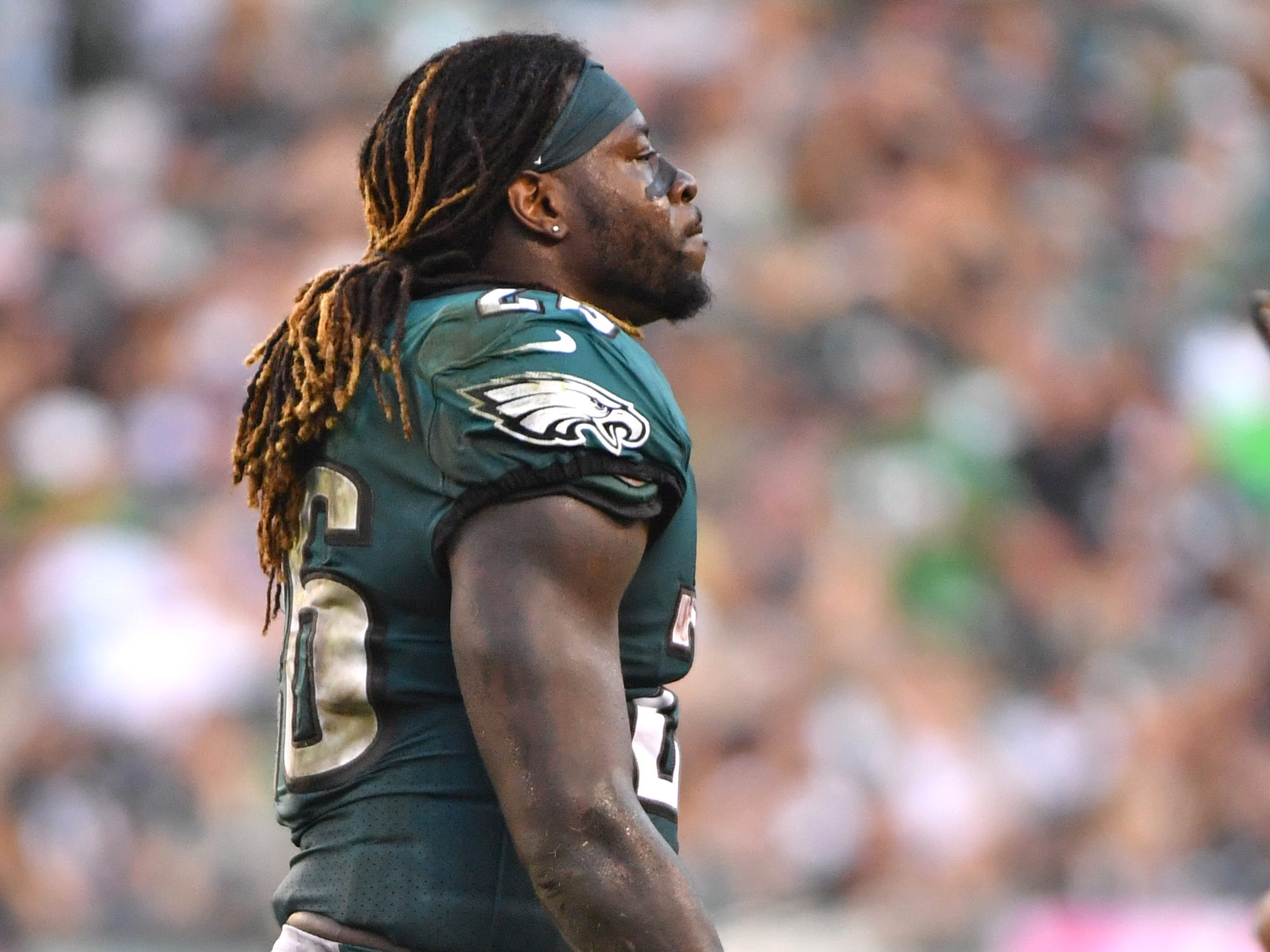 Jay Ajayi, RB, Philadelphia Eagles (torn ACL, placed on injured reserve)