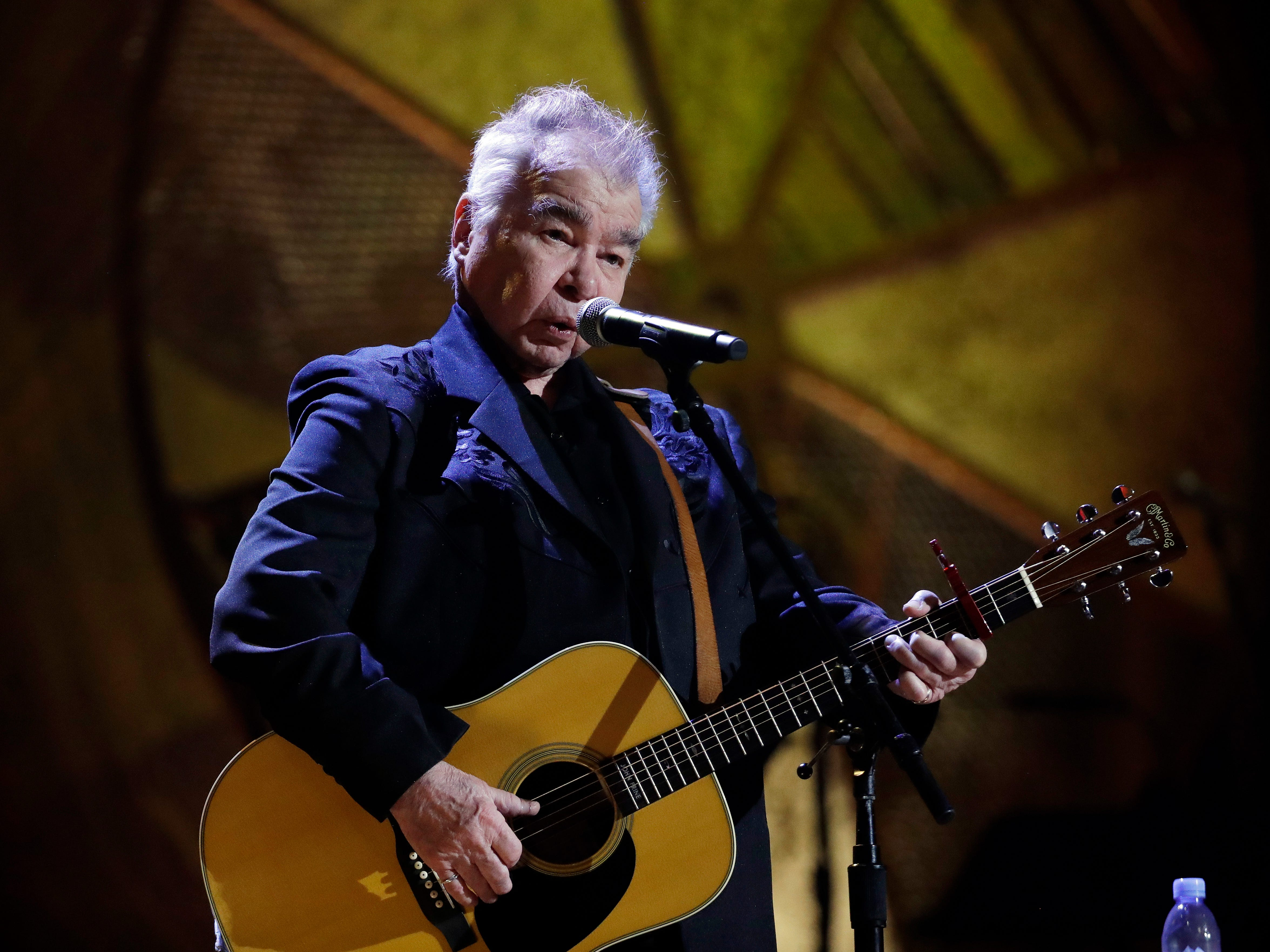 John Prine. Here, he performs during the Americana Honors and Awards show  Sept. 12, 2018, in Nashville, Tenn.