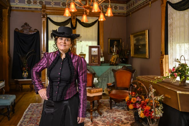 Appleton's Christine Williams volunteers at the Hearthstone Historic House Museum in Appleton, and takes part in the Haunted Hearthstone events every Friday of October.