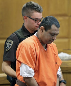 Manishkumar Patel, 45, was sentenced Tuesday to 22 years in prison. Patel was convicted in August of attempted first-degree intentional homicide of an unborn child. He was accused of putting an abortion-inducing drug in his girlfriend's drink