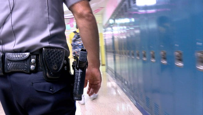 Escambia County schools have been working to increase their security level in the wake of mass shootings on U.S. school campuses.