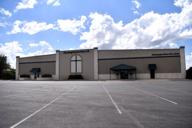 Champions Church at 7474 Buffalo Gap Road Sept. 20, 2018. The building is one of several church properties listed for sale in Abilene.