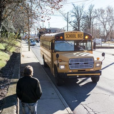 Answer Man: Why is school bus ridership low? Red meat colored?