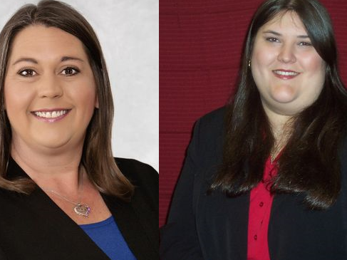 Misty Belford, left, and Shana Moore are the candidates for Brevard County School Board District 1.