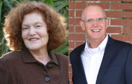 Cheryl McDougall, left, and Charles Parker are the candidates for Brevard County School Board District 2.
