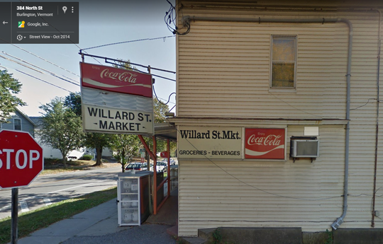 A Google Street View look at what is now Momo's Market in the Old North End. The image was taken in Oct., 2014.