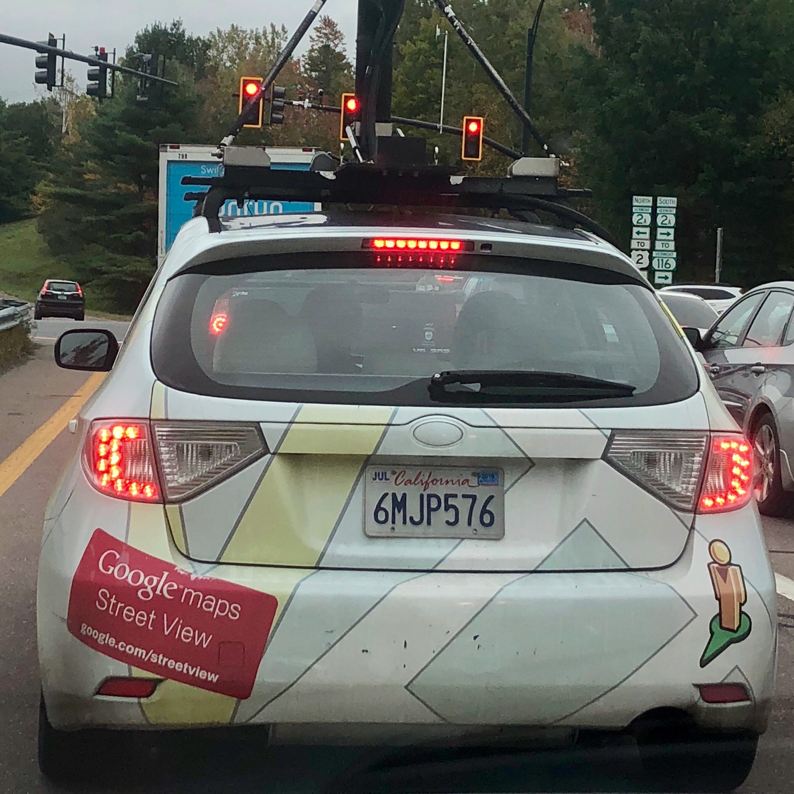 Google's Street View car is back in Vermont. Here's where it's been spotted.