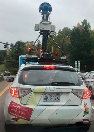 Google Street View Car spotted in Williston