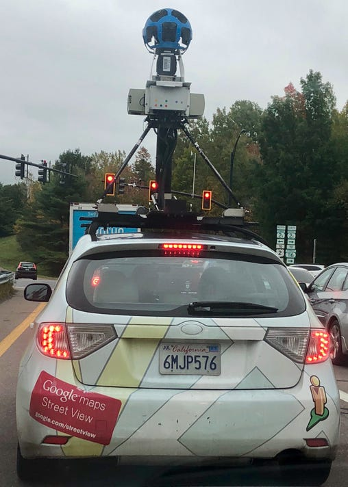 Google Maps Street View Car Spotted In Vermont