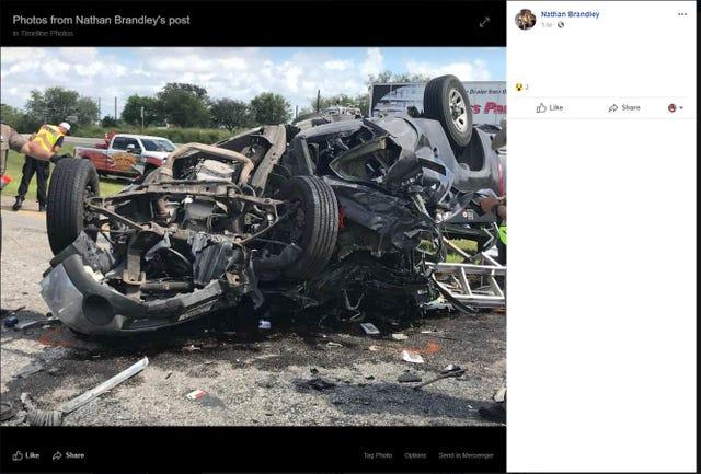 Texas DPS: man dies in rollover crash on U S  Highway 77