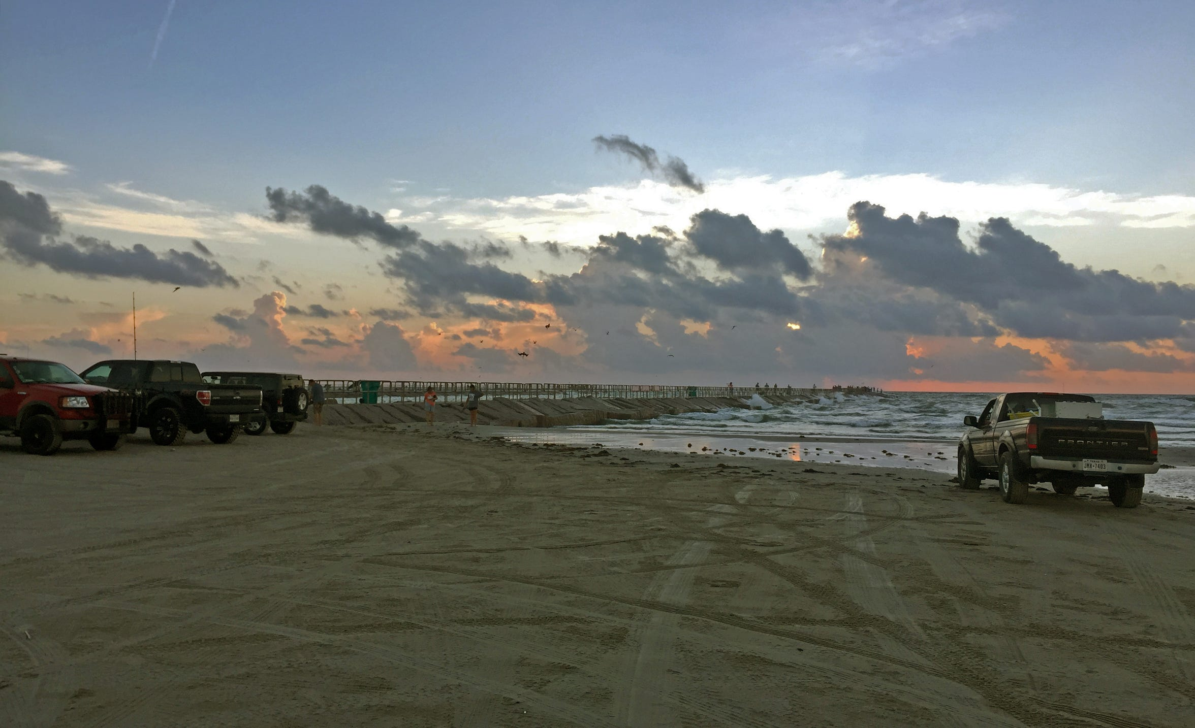 Parking at the base of the jetties requires an annual beach parking permit, which are available at most convenience stores for $12.