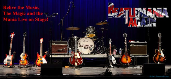 'Beatlemania Again' brings the sounds of the Fab Four and more to the Ritz Theater Company in Haddon Township.