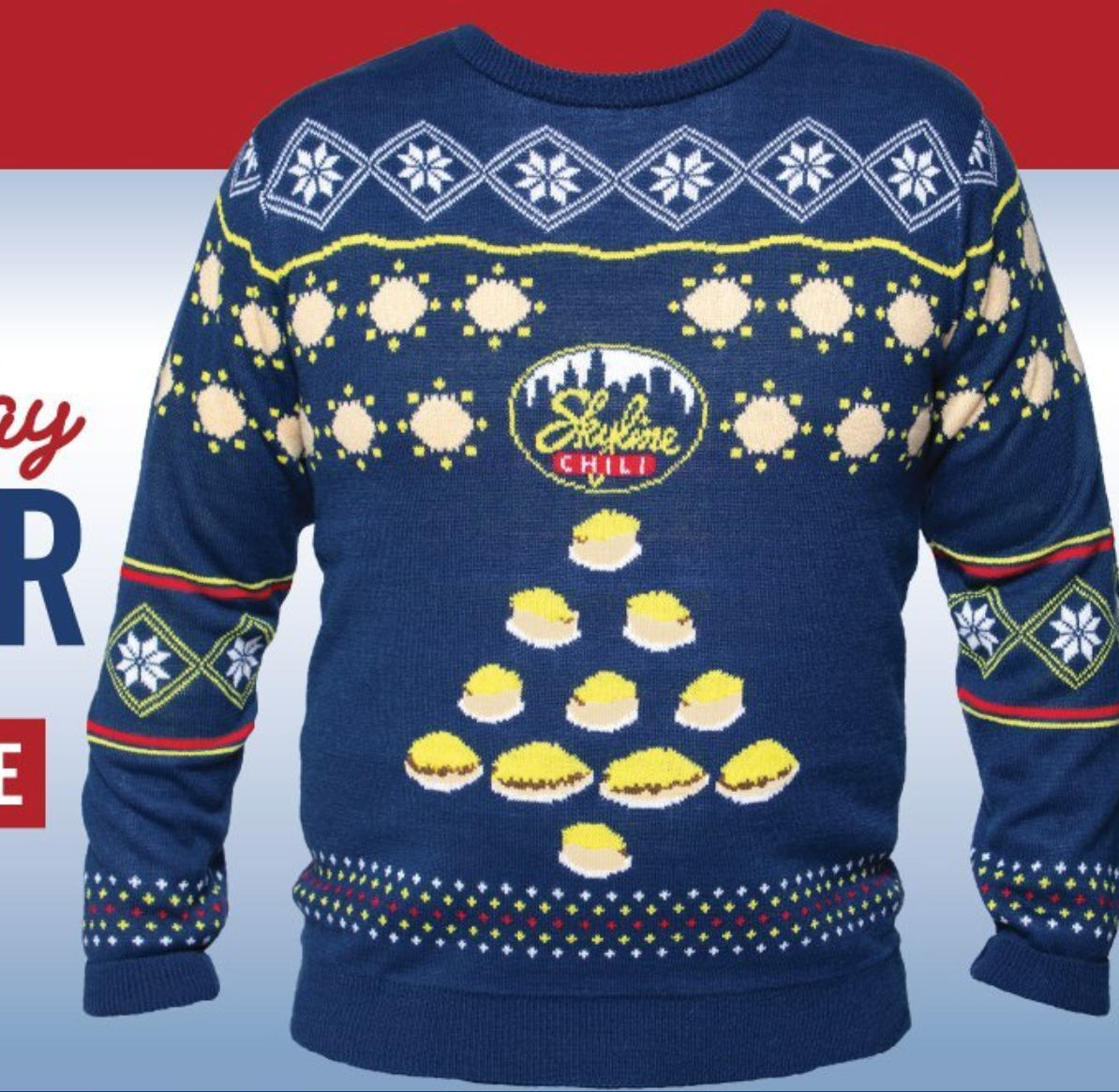 Skyline releases a chili sweater for chilly weather