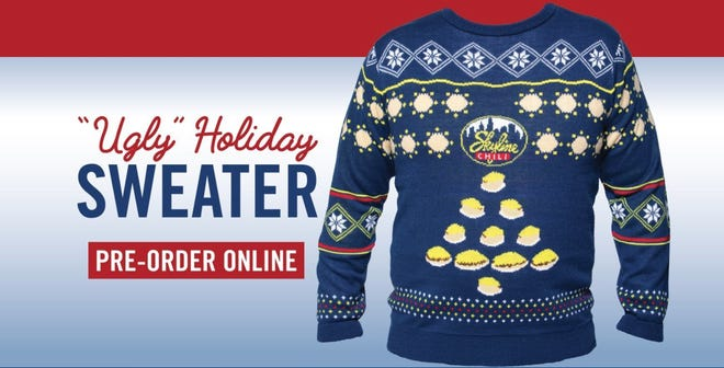 You can enter to win or pre-order Skyline's chili sweater for chilly weather.