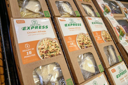 Kroger's Home Chef Express meal kits.