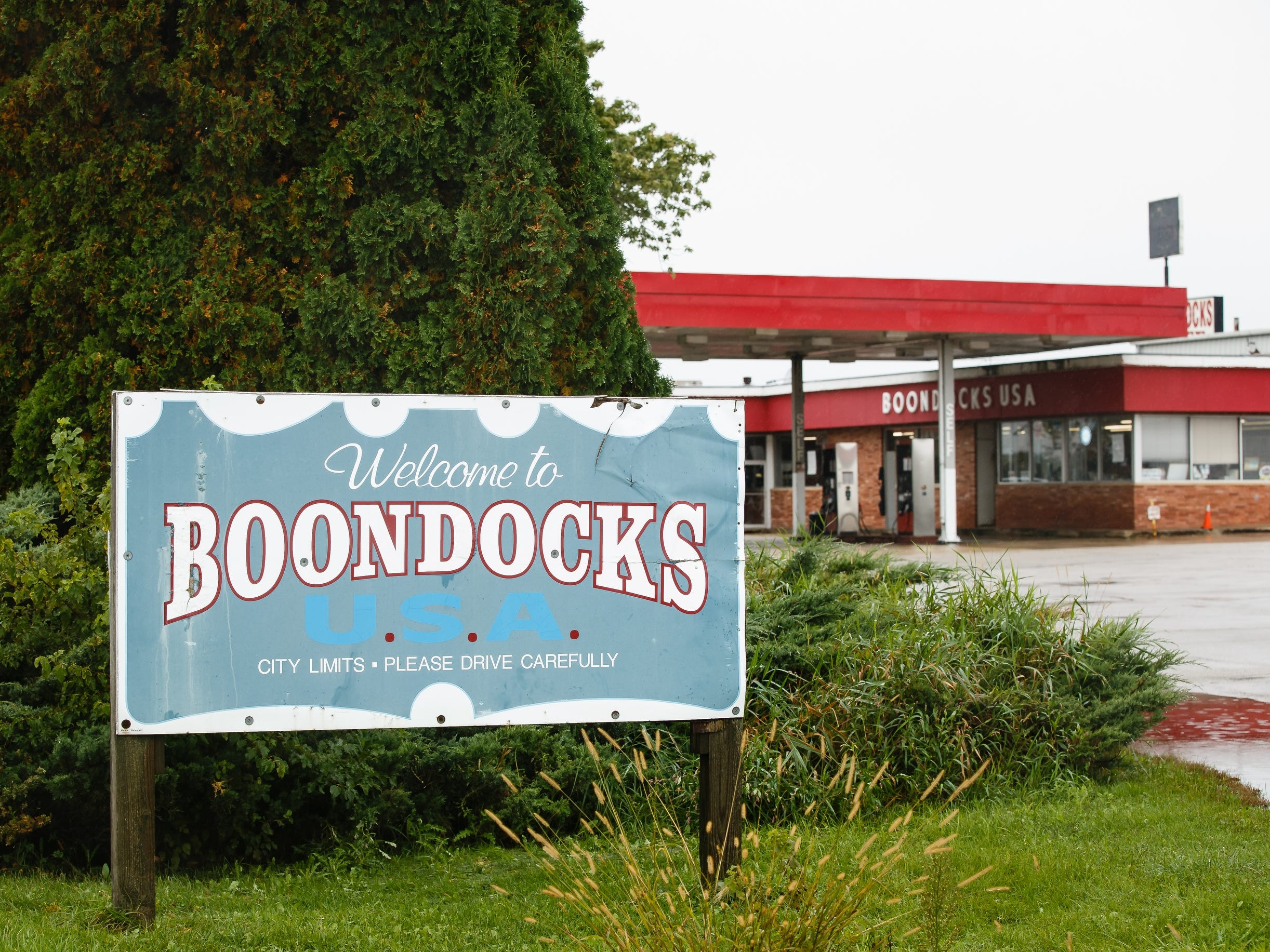 Bob and Miriam Welch have owned and operated the Boondocks truck stop along I-35 since 1973. They recently announced they will be closing the iconic store on Oct. 20. Here it is seen on Tuesday, Oct. 9, 2018 in Williams.