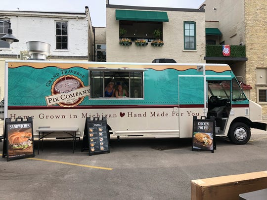 Grand Traverse Pie company new food truck.