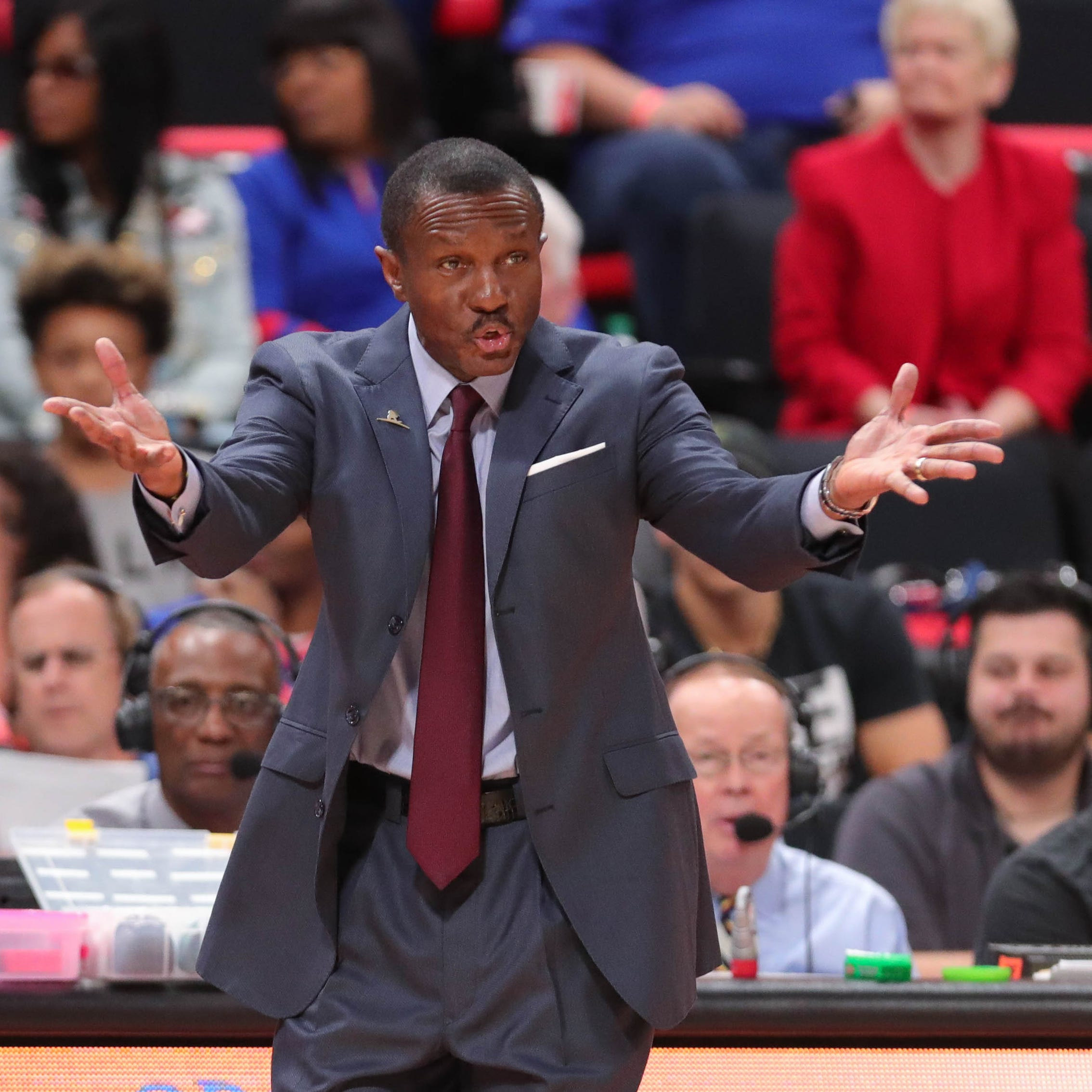 Detroit Pistons coach Dwane Casey's system offers 'no boundaries'