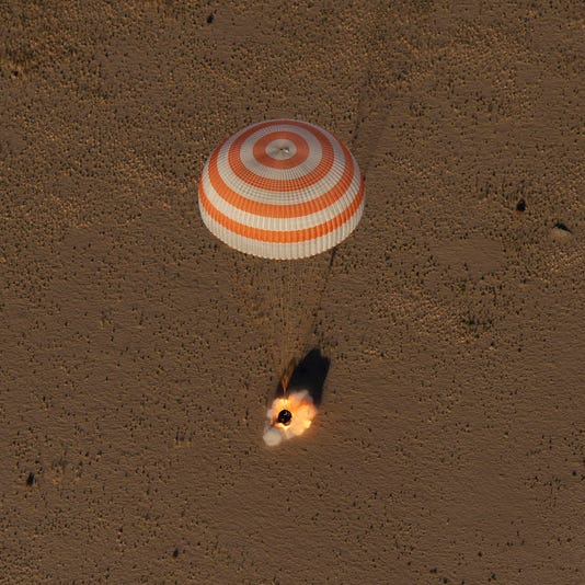 Expedition 56 Soyuz Ms 08 Landing