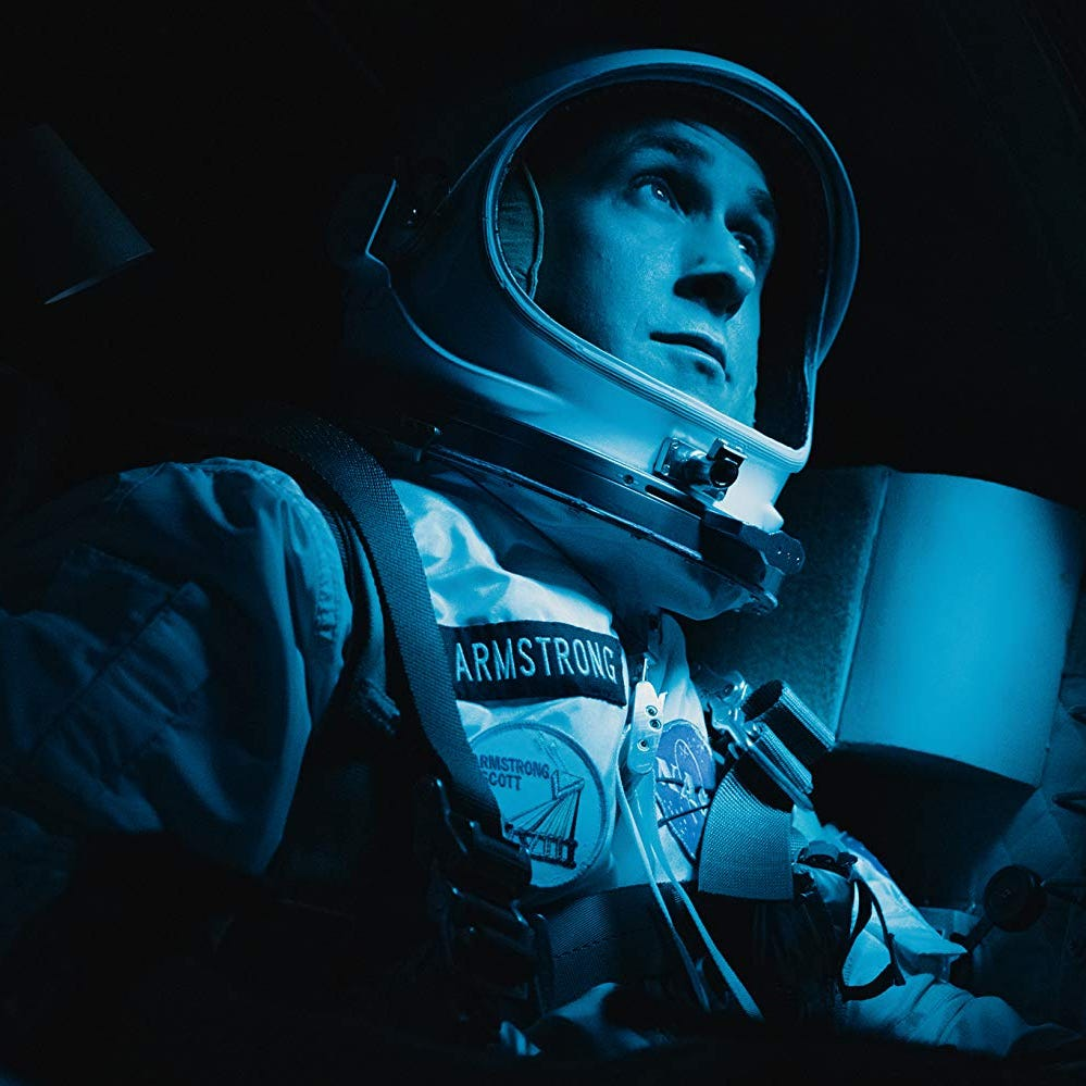 Review: 'First Man' shoots for stars, comes up short