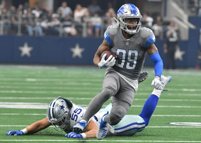 The Lions could be looking at replacements for returner Jamal Agnew, who injured his knee Sunday against the Green Bay Packers.