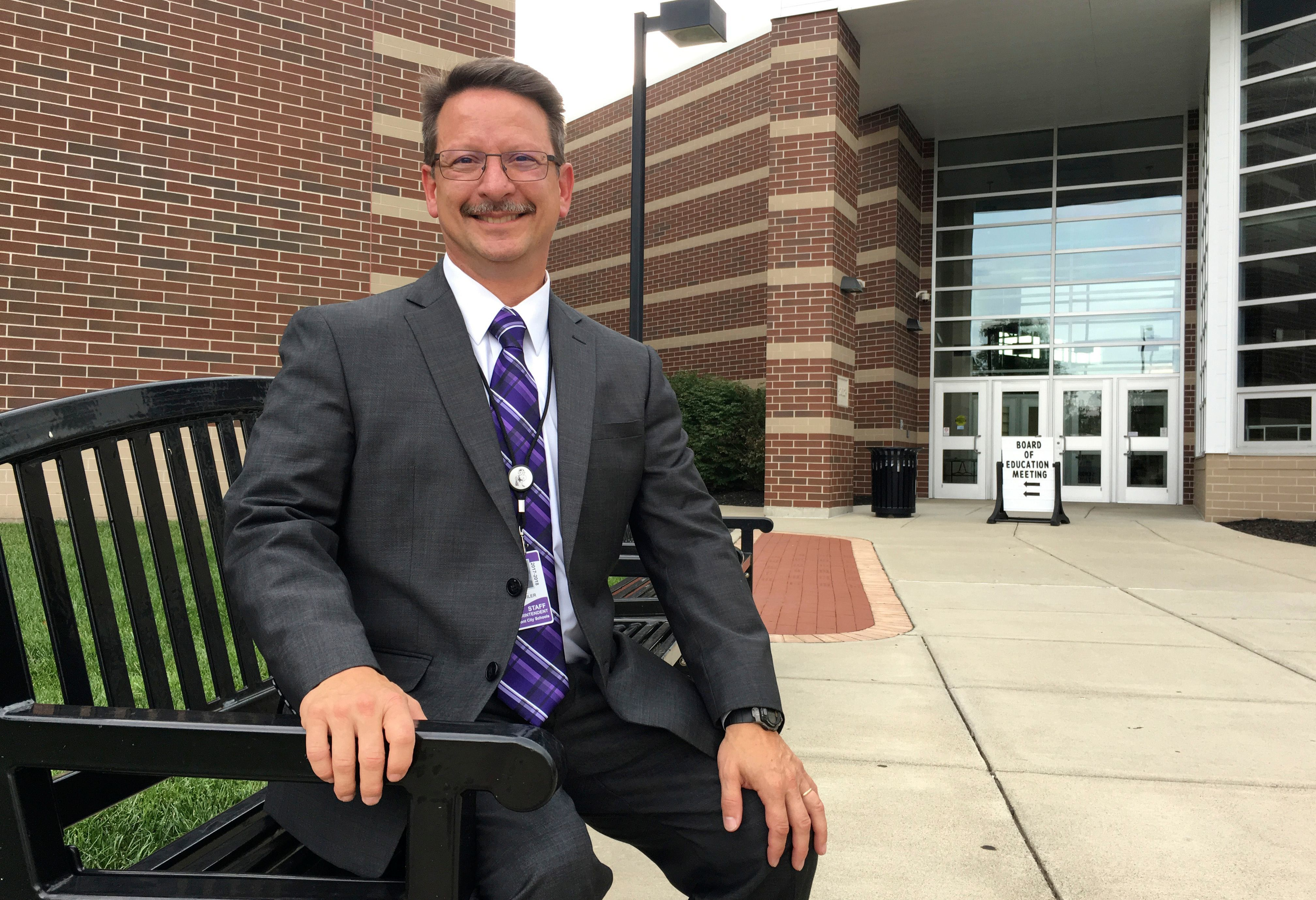 Jon Detwiler, Fremont City Schools superintendent, says the district is moving forward with its plans for four new elementary school buildings and a new Fremont Ross High School.