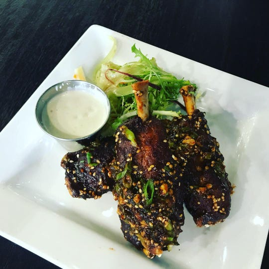 Asian-inspired pork wings from Metro Food & Booze.