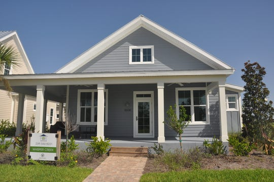 One of the models Fox Premier Builder has in Babcock Ranch.
