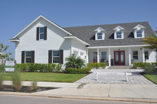 Florida Lifestyle Homes has many models, but sales are slower for the high end builder at Babcock Ranch.